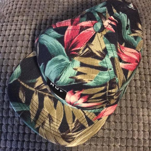 59efeb2dbdb HUF Other - HUF tropical floral print flat brim hat